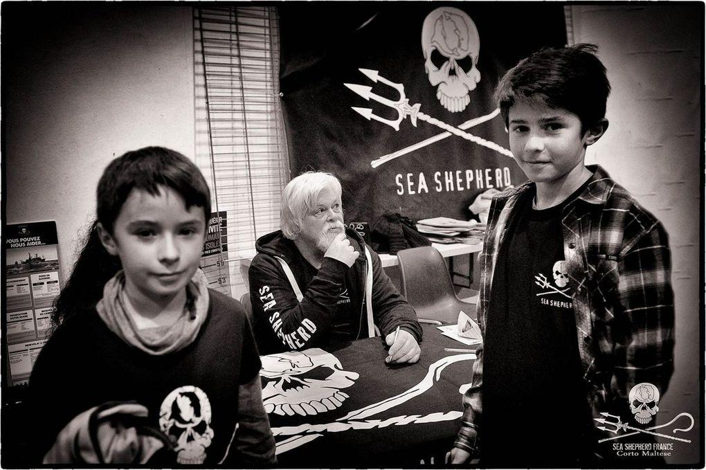Belles photos de Sea Shepherd Nice et reportage passionnant de Fréquence Mistral. Merci à vous