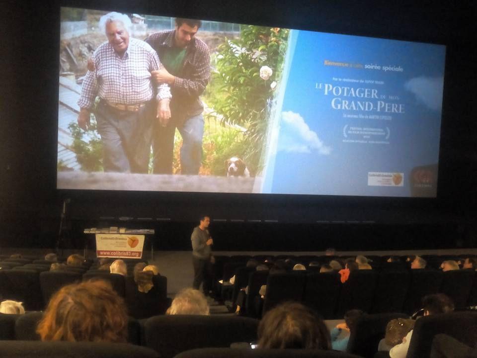 200 spectateurs à Draguignan. Beaucoup de rires, d'émotions, de vérité... et un débat très positif. Merci.