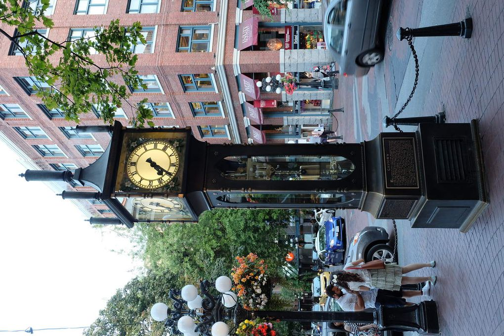 Granville Island et Steam Clock