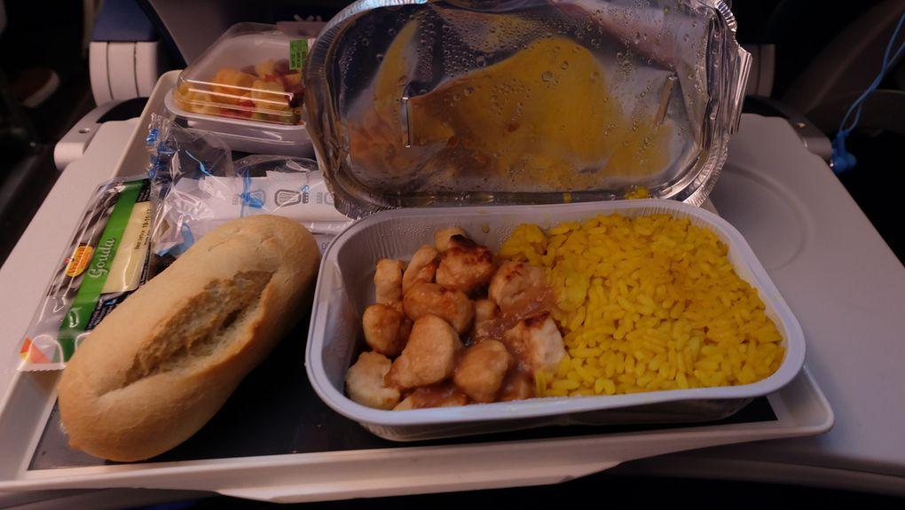 Repas à bord - XL Airways