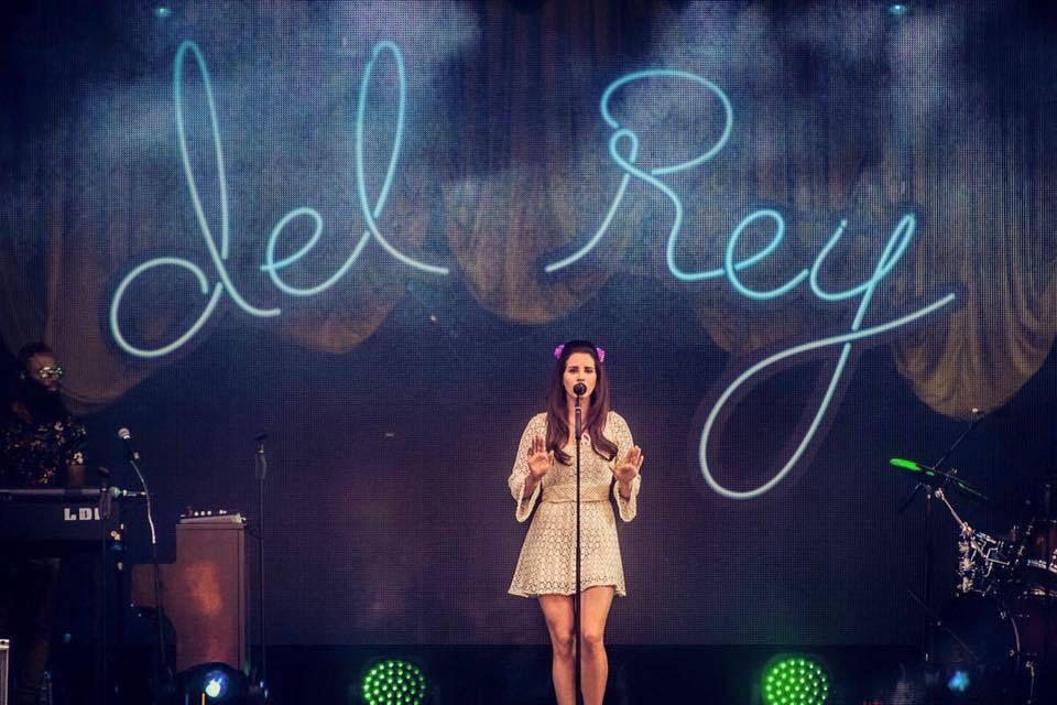 Lana Del Rey, le regard livide à Werchter