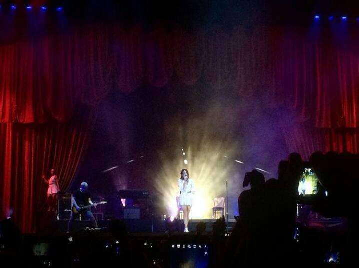 Lana Del Rey pour le Moon &amp&#x3B; Stars Festival