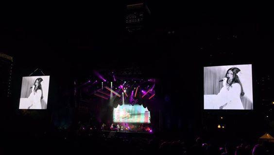 Lana Del Rey au festival Lollapalooza à Chicago (28/07/2016)