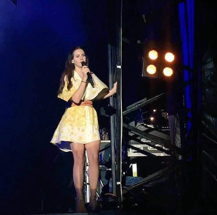 Lana Del Rey au festival Electric Picnic, Irlande (04/09/2016)