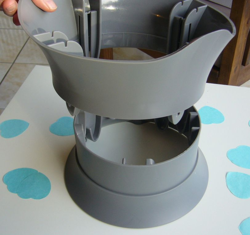 Notre pot évolutif Bellemont - Enfin un pot conçu et adapté pour nos enfants !