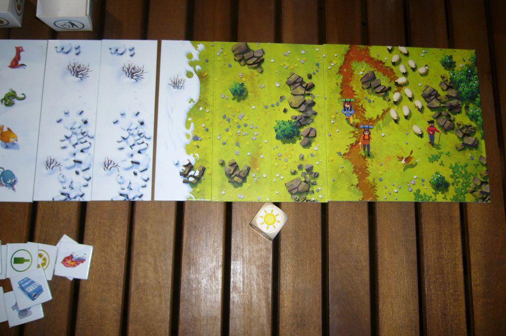 Viva Montanya- Un jeu coopératif - Mémoriser et coopérer pour préserver la montagne avec Bioviva