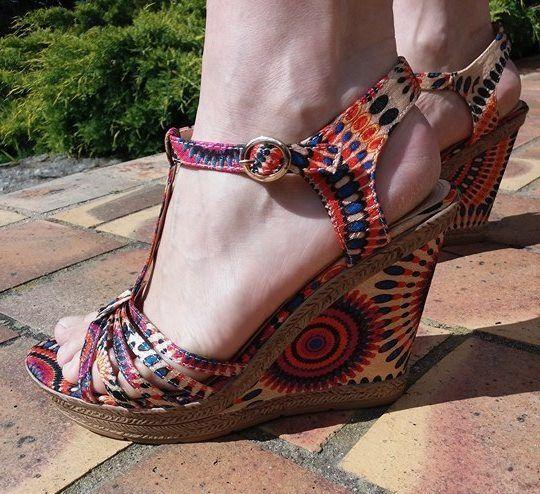 Prix des chaussures compensées Multicolores PAINTS MODA : 34.99 €