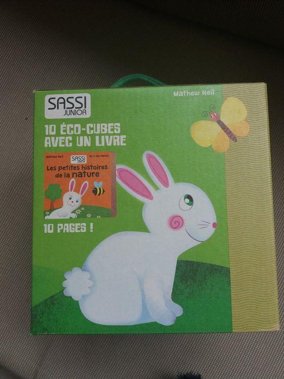 Mon Eco-cube nature avec Sassi Junior !