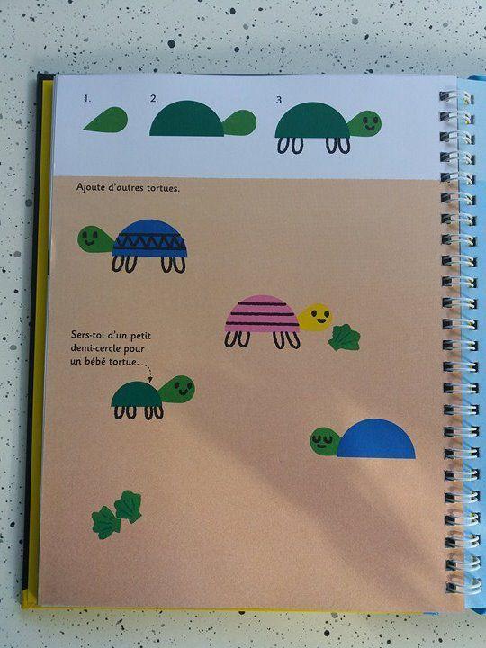 Activité manuelle - Je dessine avec des gommettes avec les Editions Usborne