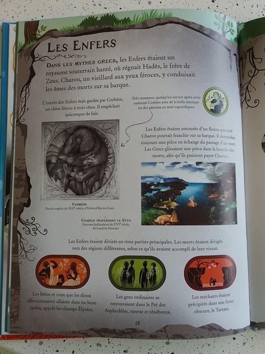 Les mythes Grecs des Editions Usborne