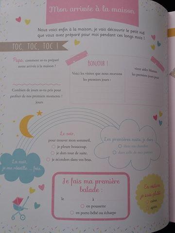 abe52c9e7 Mon livre de Naissance - Mes toutes premières fois - Avec veilleuse ...