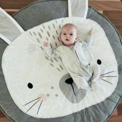 Mon tapis licorne, confortable et moelleux pour bébé - La maison des bébés