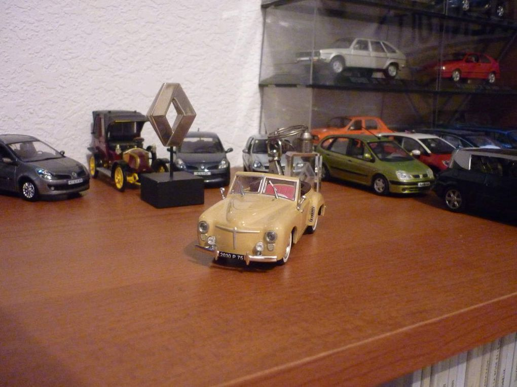 Renault 4cv la famille