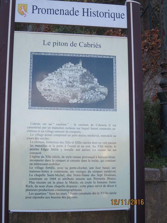 Balade à 360° (presque) au pied du village de Cabriès.