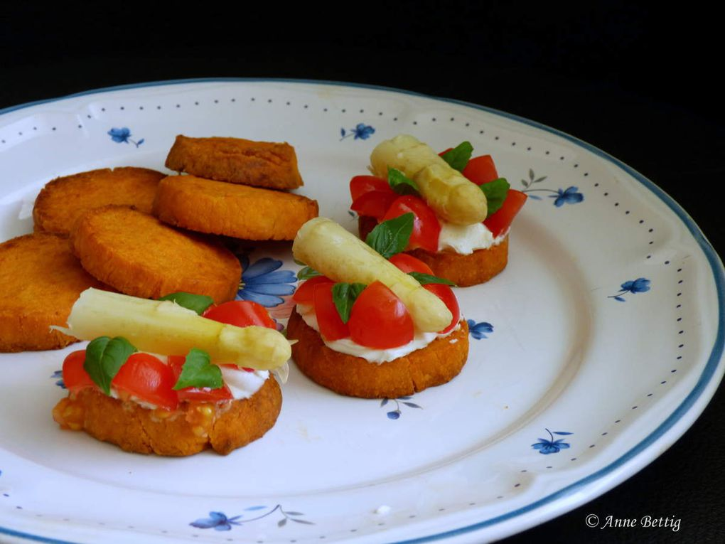 Sablés salés à la tomate et au parmesan