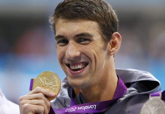Michael Phelps avec l'or, Teddy Riner le porte étendard...