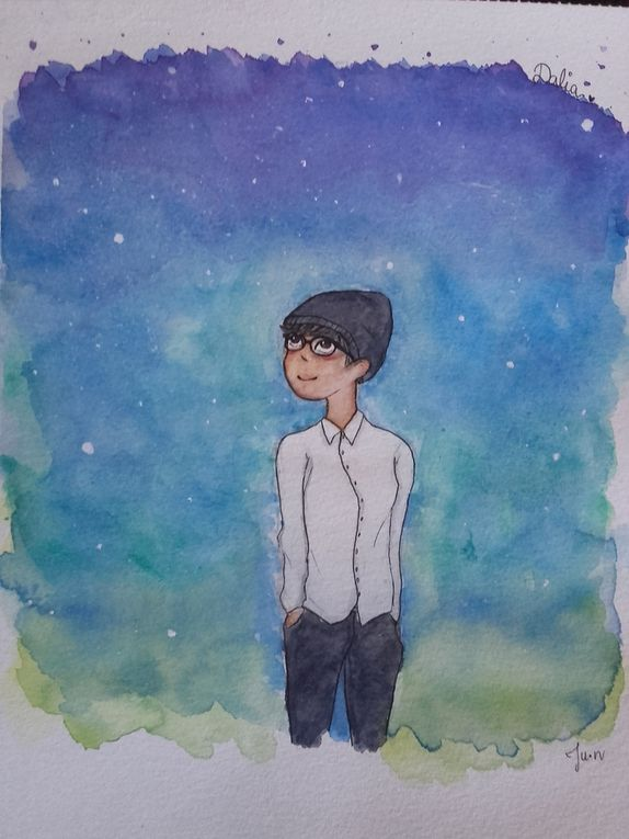 Some watercolor painting ~