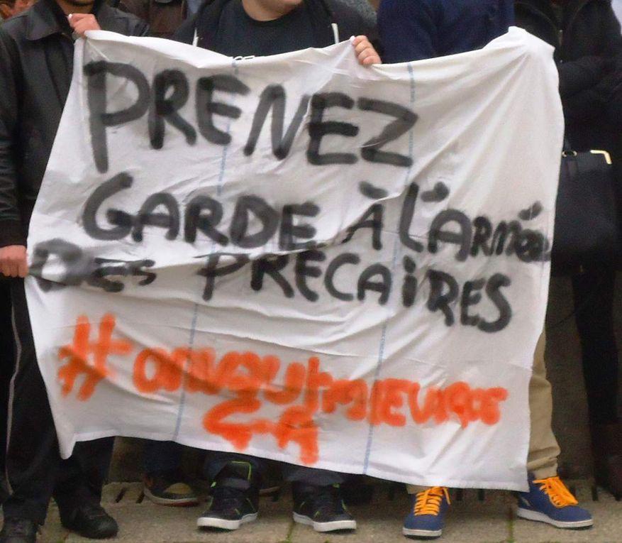 Slogans du 9 mars 2016 à Cholet