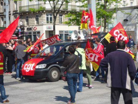 La manifestation choletaise en images