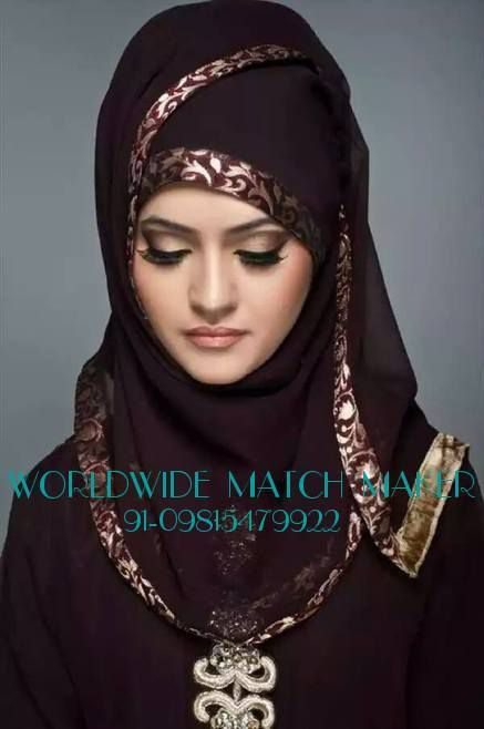 (58) MUSLIM MUSLIM MATCH MAKING SERVICES 91-09815479922 INDIA &amp&#x3B; ABROAD