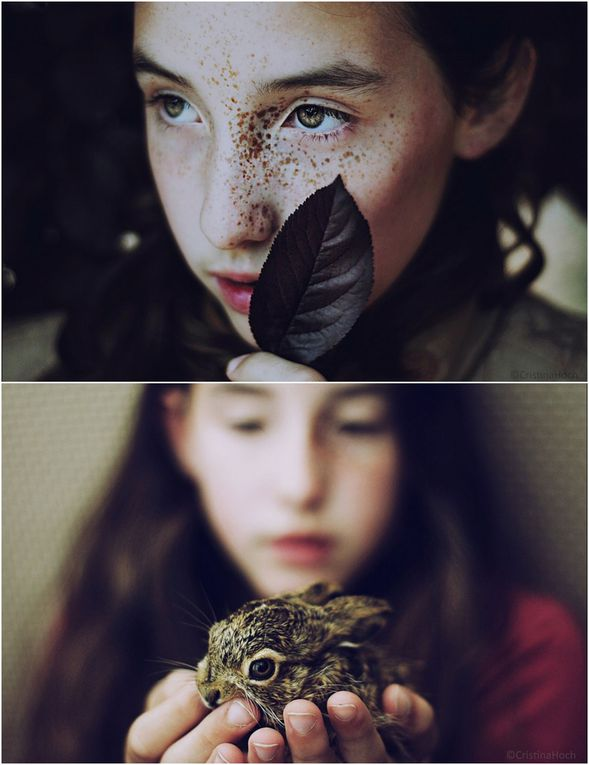Divers - photos -Art. Graine de photographe - Cristina Hoch, 21 ans, réalise des portraits captivants de ses proches.