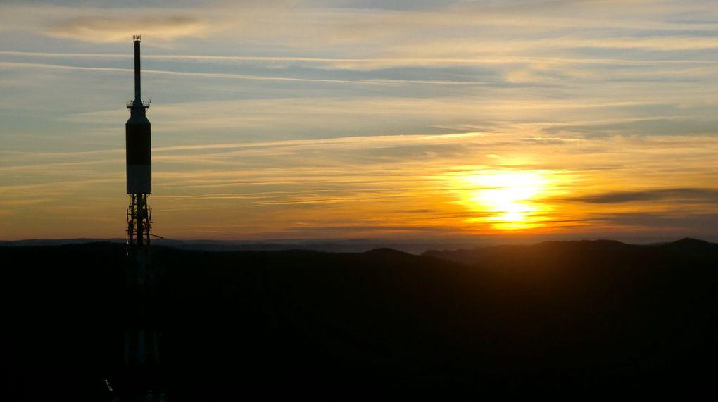 Voici quelques échantillons des nombreuses photos que j'ai pu faire lors de cette quête du soleil  au Donon.
