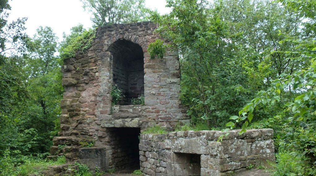 Ruines du Petit Geroldseck.