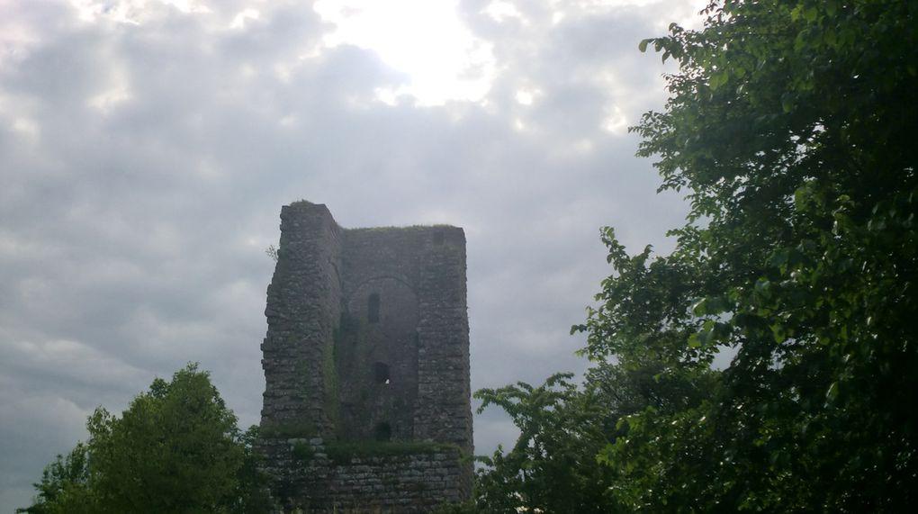 Le château du Grand Geroldseck date du début du 12ème siècle et est l'un des plus anciens des Vosges du Nord.