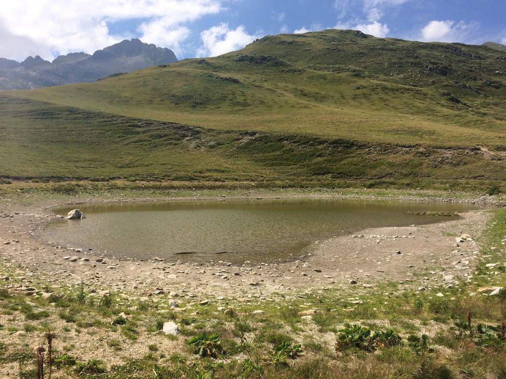 Le lac de l' Arpettaz.