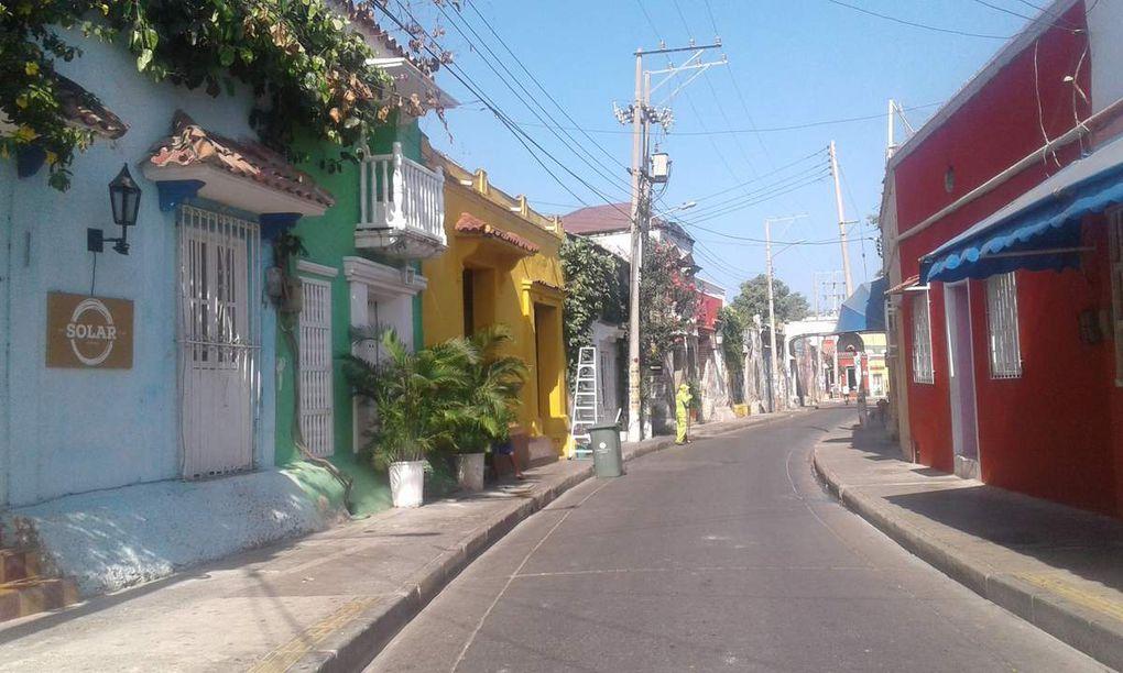 Les rues de la vieille ville.