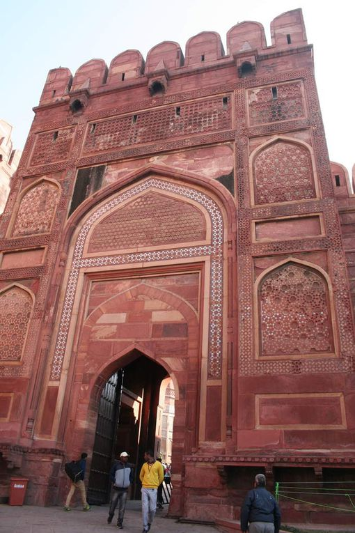 Agra, le Taj Mahal'luciné!!!