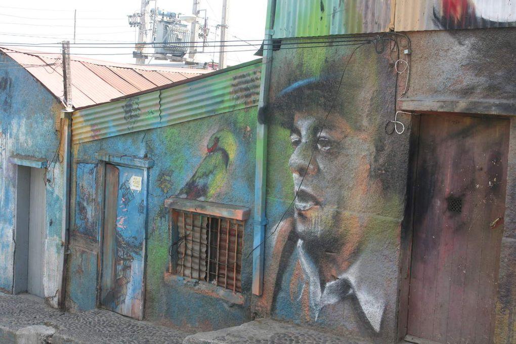 Valparaiso, le street art à grande échelle