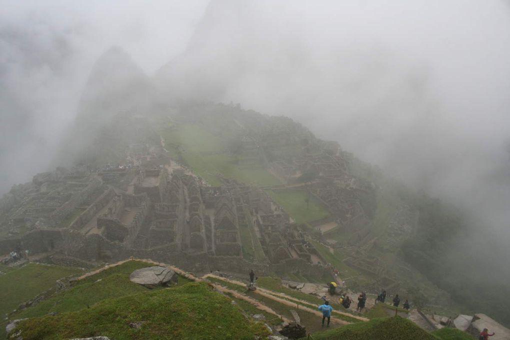 Machu Picchu sous la pluie, Machu Picchu quand même !