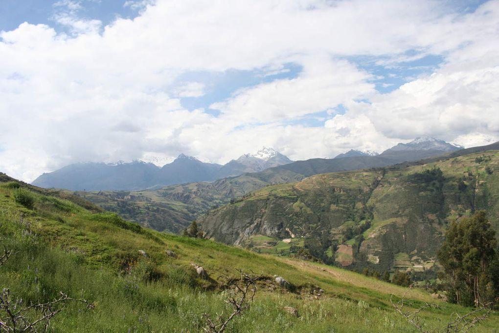 Huaraz et la cordillère blanche
