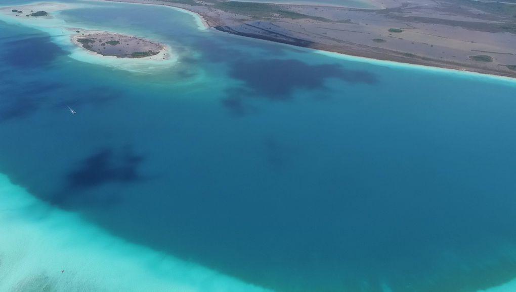 Cenote azul et Lagune de Bacalar