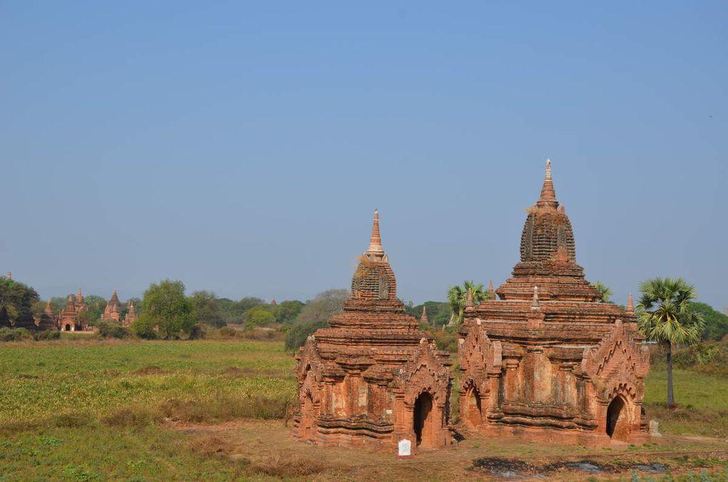Bagan ou la région au plus de 2000 temples et pagodas !!!!