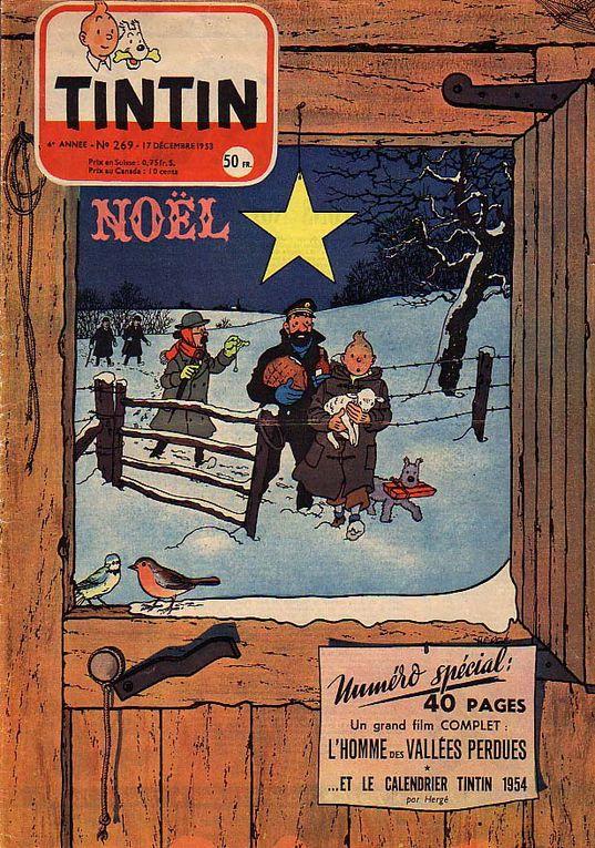Noël avec Tintin