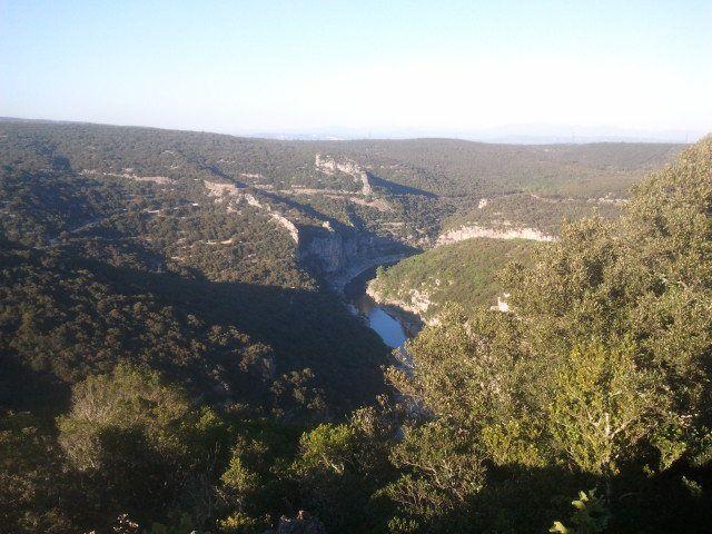 Magnifique point de vue au Rocher de Castelviel