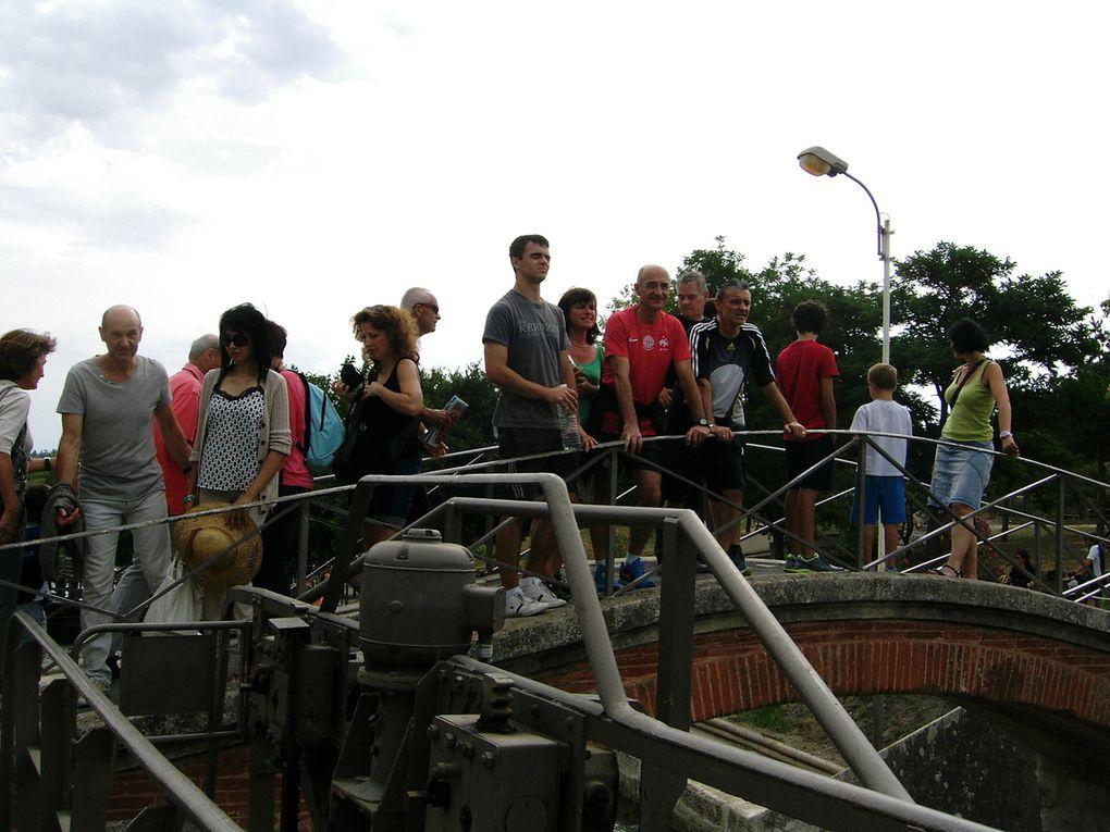 Samedi balade au bord du canal du midi à Bézier et visite des écluses de Fonsérannes