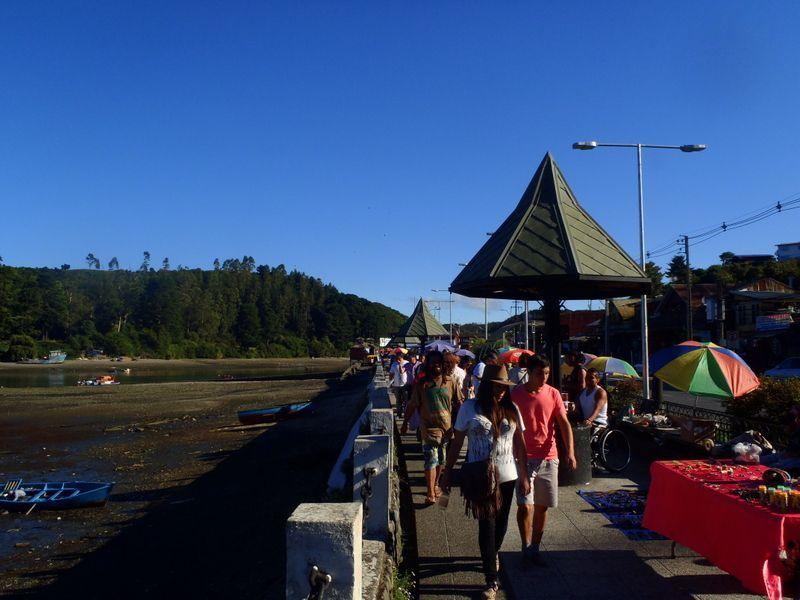 De Chaiten à Puerto Montt via l'île de Chiloé