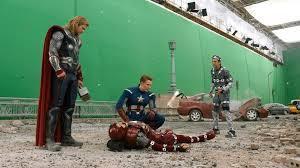 The Avengers : Quelques scènes