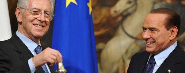 Monti e Berlusconi uber alles