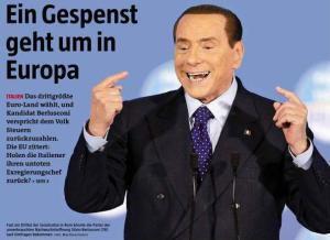 Uno spettro si aggira per l'Europa: la candidatura di Berlusconi
