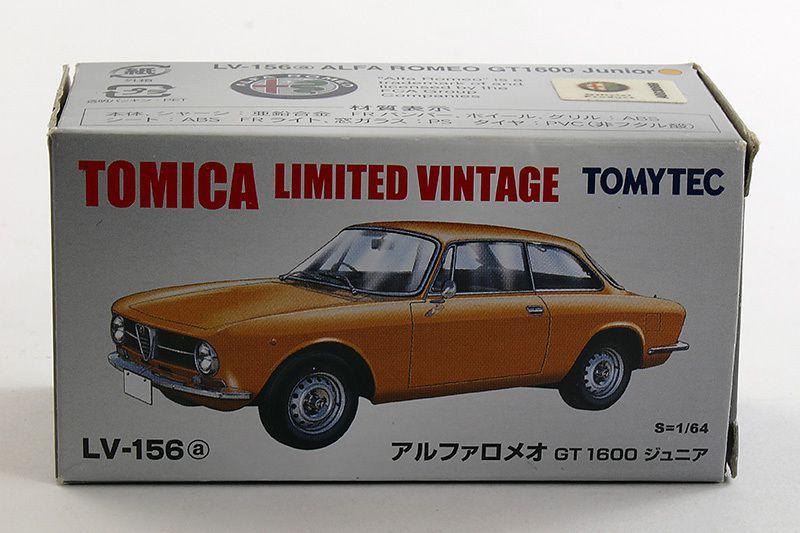 Alfa Romeo 1600 GT Junior. Tomica Limited Vintage. Échelle 1/64ème
