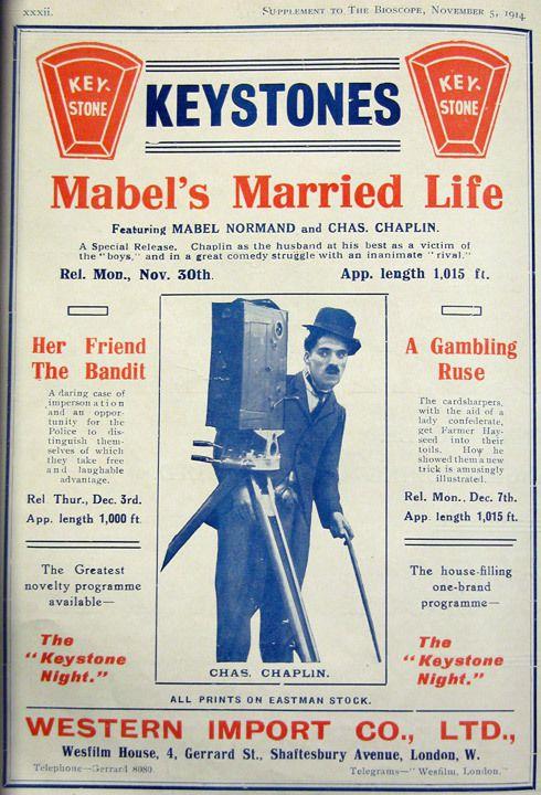 Charlie Chaplin, Mack Sennett et sa société de production KEYSTONE