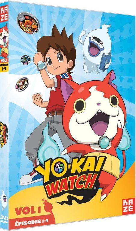 visuels des DVD de l'anime disponibles chez Kazé vidéo