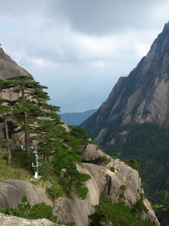The yellow mountains  ou Mont huangshan