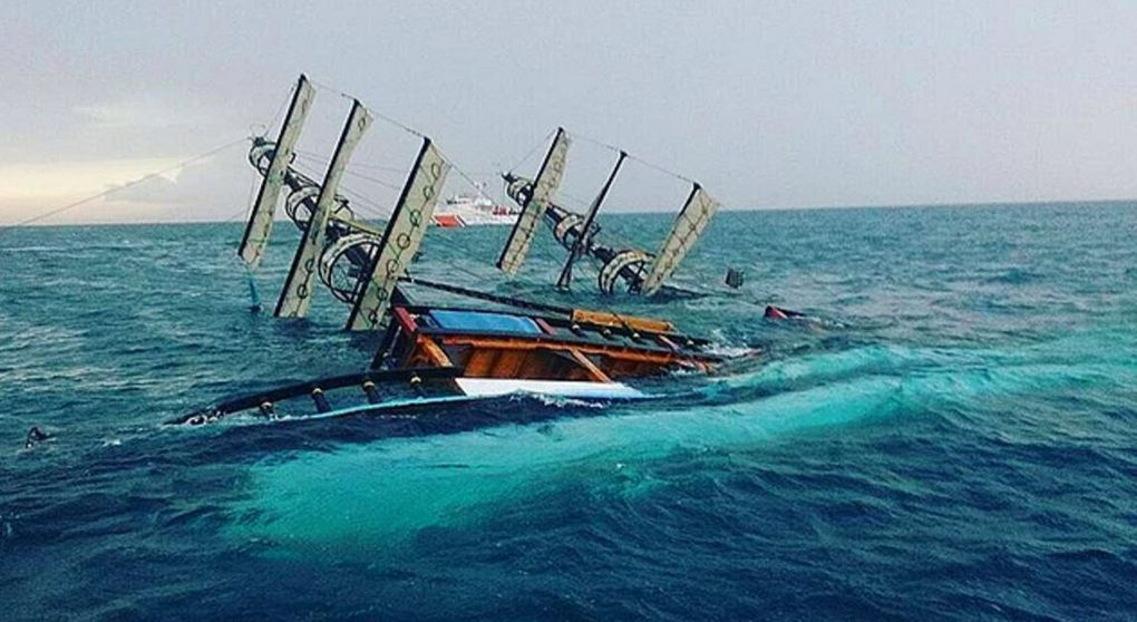 Traditional tour sailboat capsizes off Antalya - 84 rescued, 2 killed