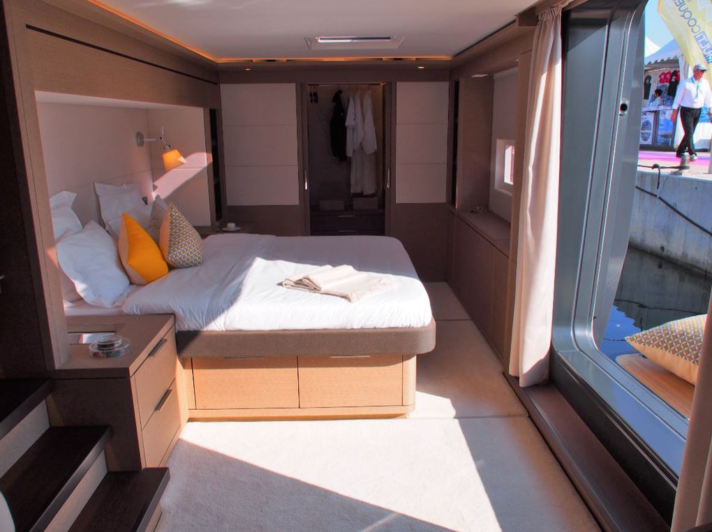 The Master Suite of the Lagoon Seventy 7