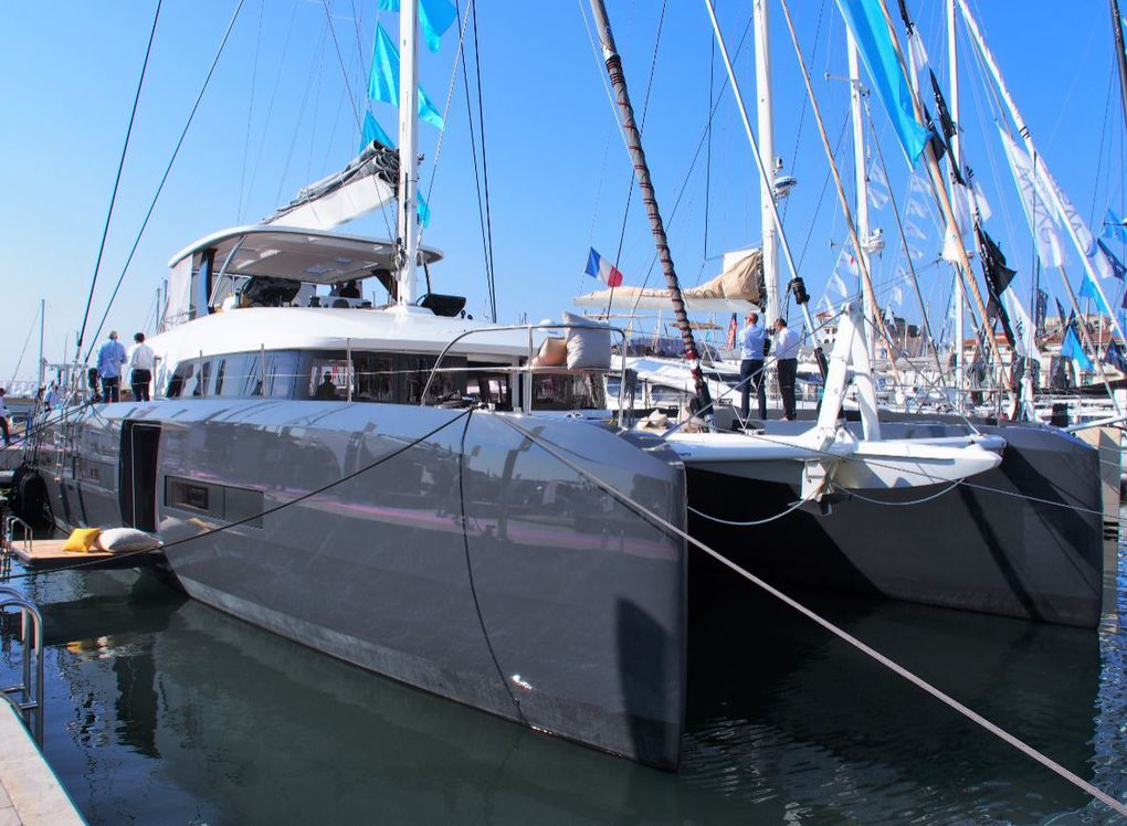The global design of the Lagoon Seventy 7, by Berret-Racoupeau and Patrick Le Quément